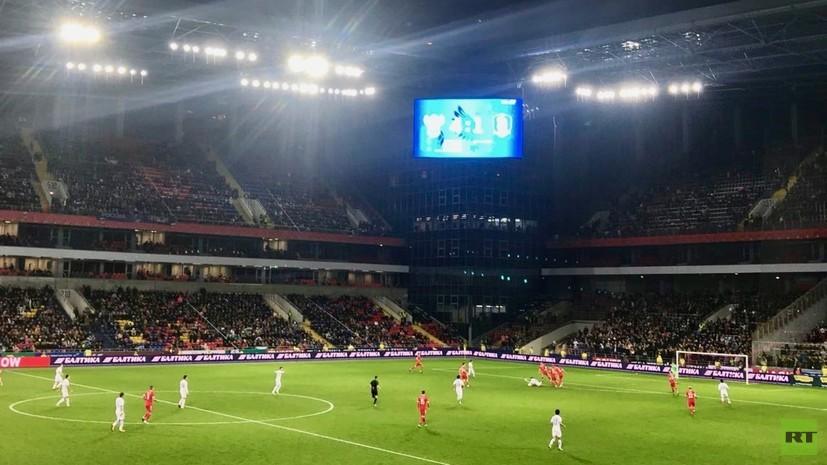 Журналистам запретили вести фото- и видеосъёмку на матче сборных России и Южной Кореи