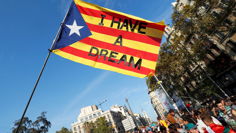 Выбор Каталонии: как в Испании готовятся к возможному объявлению независимости региона