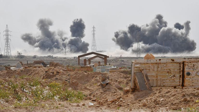 ВКС России уничтожили опорный пункт и более 70 боевиков на восточном берегу Евфрат в Сирии