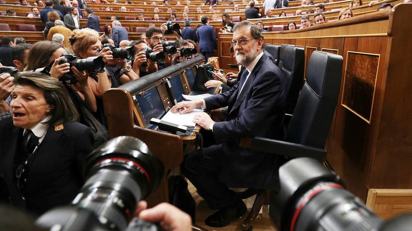 Дедлайн для независимости: власти Испании требуют прояснить вопрос о суверенитете Каталонии до 16 октября