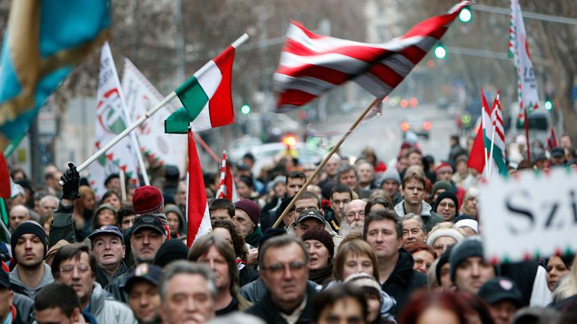 почему Киев обвиняет Будапешт в подстрекательстве сепаратизма»