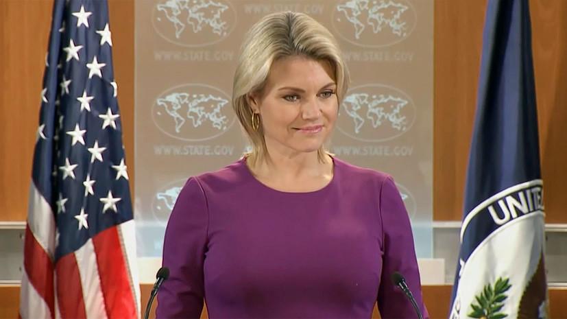 США призывают все стороны в Армении к конструктивному диалогу
