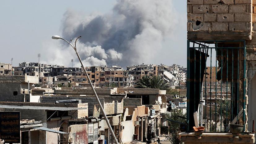 Живой щит: боевикам ИГ разрешили покинуть Ракку вместе с заложниками