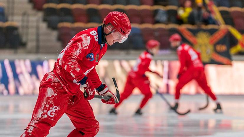 Досадное поражение: «Енисей» уступил в финале Кубка мира по хоккею с мячом в компенсированное время
