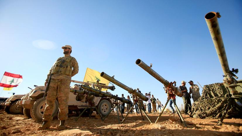 ациональная разведка США оценит помощь Хезболле от Ирана в Сирии и Ливане»