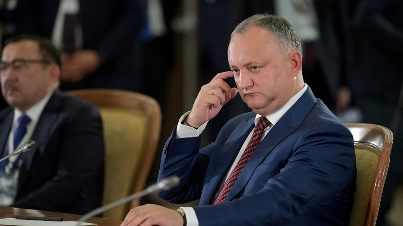 «Время экспериментов прошло»: Додон призвал жителей Молдавии выступить за расширение президентских полномочий