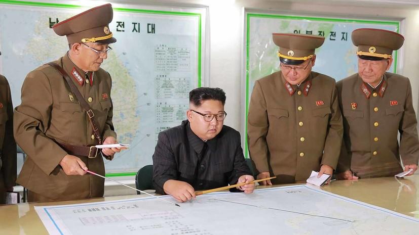КНДР пригрозила США «невероятным ударом»