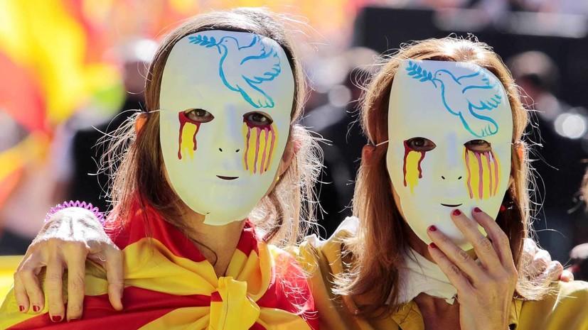 Власти Испании готовы начать процедуру приостановки автономии Каталонии