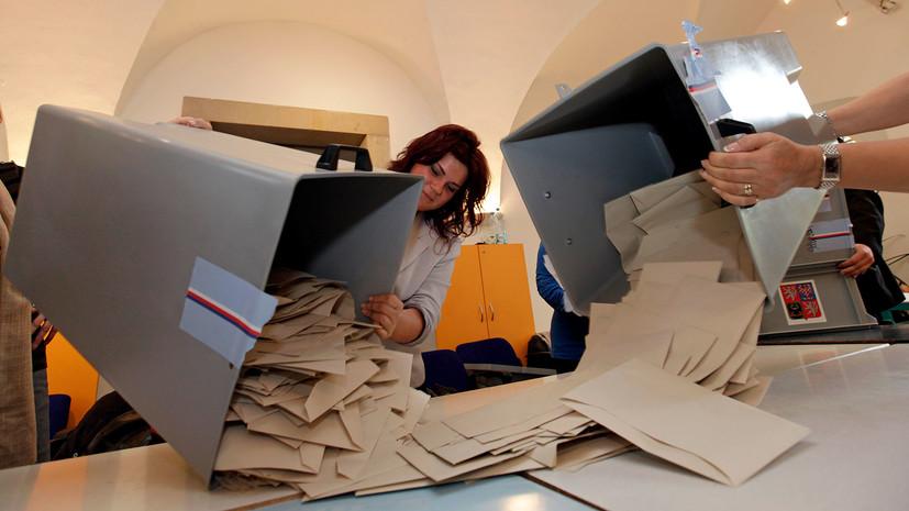 как распределятся голоса на парламентских выборах в Чехии »