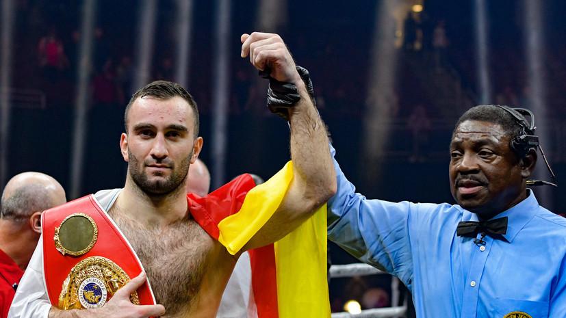 Железный человек: российский боксёр Гассиев нокаутировал поляка Влодарчика и защитил звание чемпиона мира