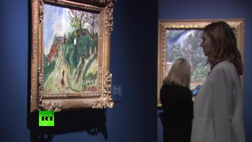 Выставка сутина в москве