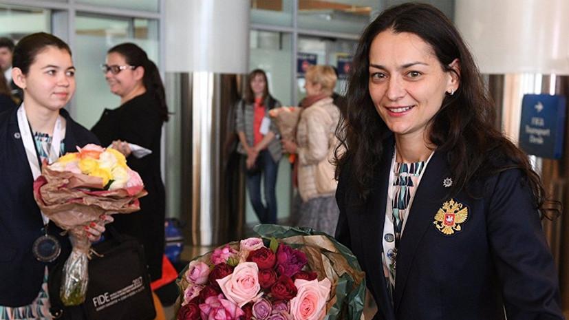 Абсолютный триумф: российские шахматистки заняли весь пьедестал почёта на чемпионате Европы по блицу