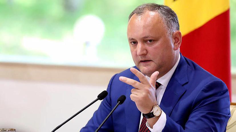 Временный переворот: к чему может привести отстранение Додона от должности президента Молдавии