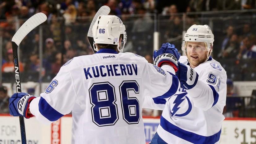 Удар молнии: как «Тампа» с россиянами Кучеровым, Василевским, Сергачёвым и Наместниковым вышла в лидеры НХЛ