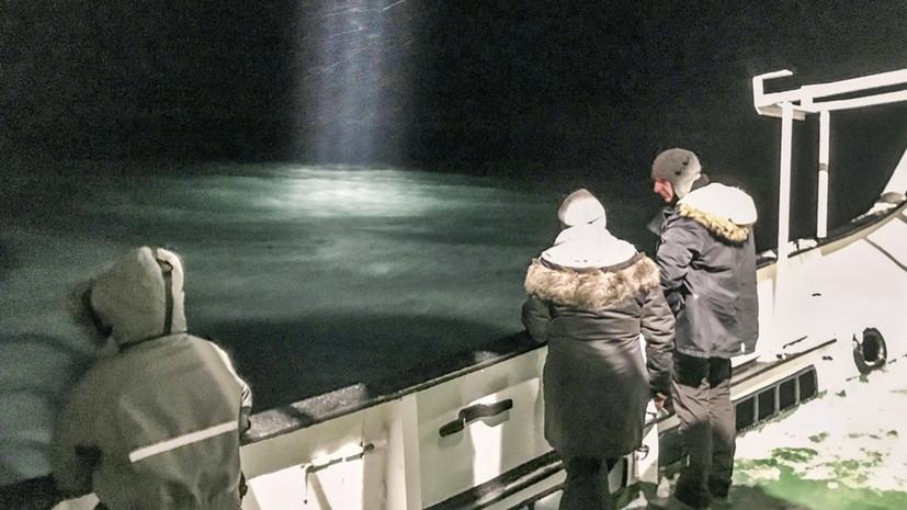 Норвегия займется расследованием крушения Ми-8 в Гренландском море