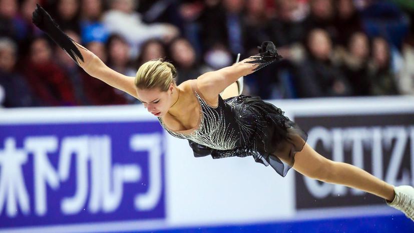Провал Погорилой, мировой рекорд в танцах и успех российского юниора: в Канаде прошёл второй этап серии Гран-при