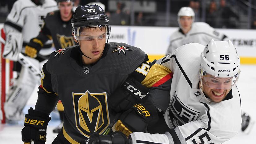 Разочарование «Вегаса»: почему у российского форварда Шипачёва не складывается карьера в НХЛ