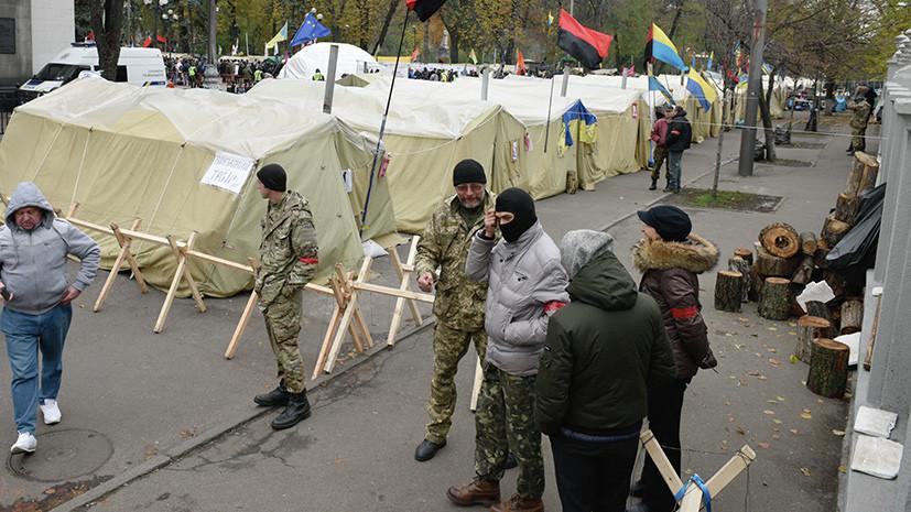Шоколадный бунт: почему сторонники Саакашвили блокируют фабрику Порошенко