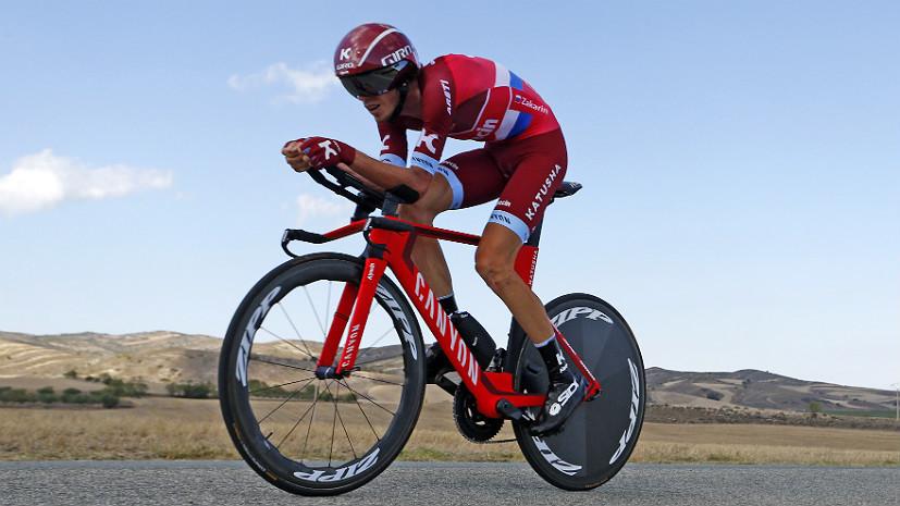 «Про допинг не спрашивают уже два года»: велогонщик Закарин о пропуске Игр в Рио, подиуме «Вуэльты» и итогах сезона