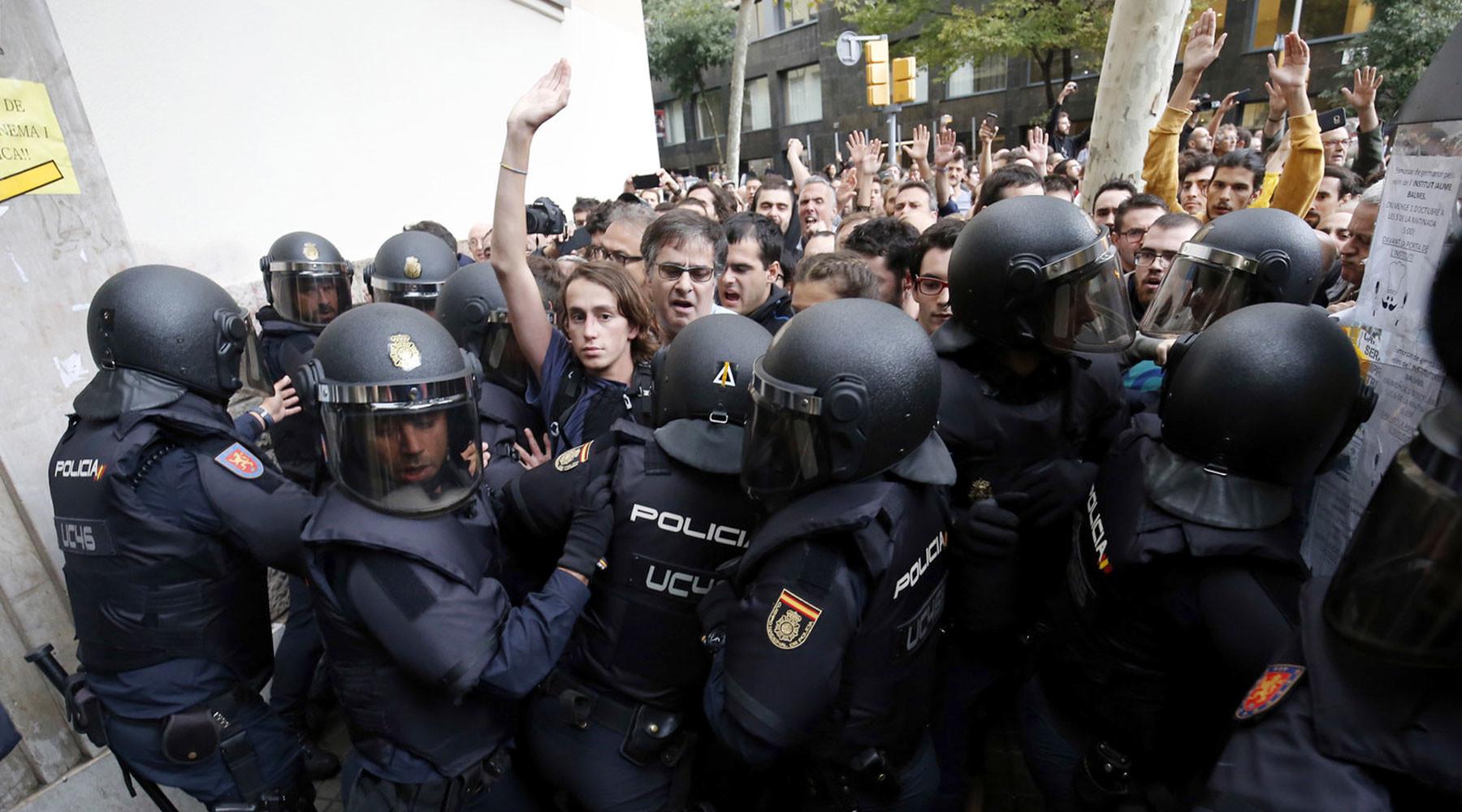 Ринкевичс: РФ использовала каталонский референдум для расколаЕС