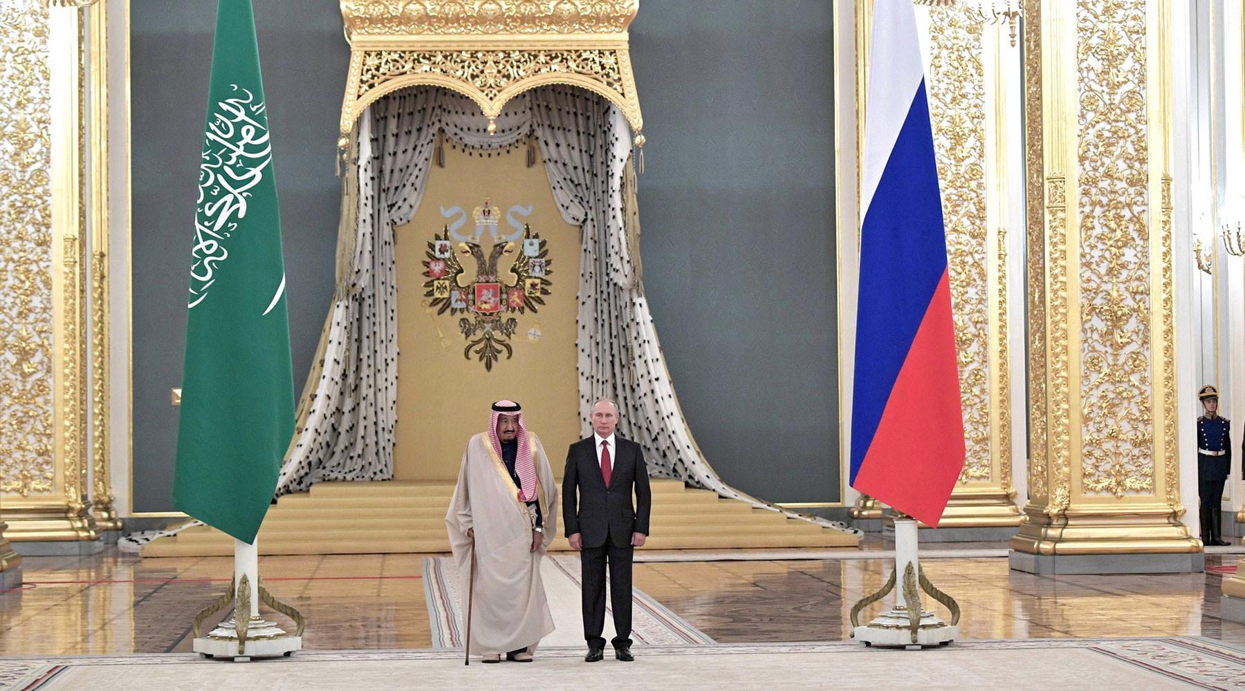 Россия и Саудовская Аравия договорились о поставках ЗРС С-400»