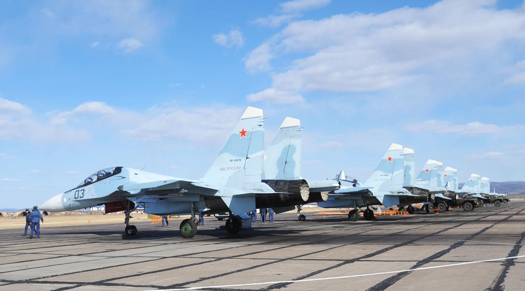 Российский самолёт Су-24 разбился при взлёте в Сирии
