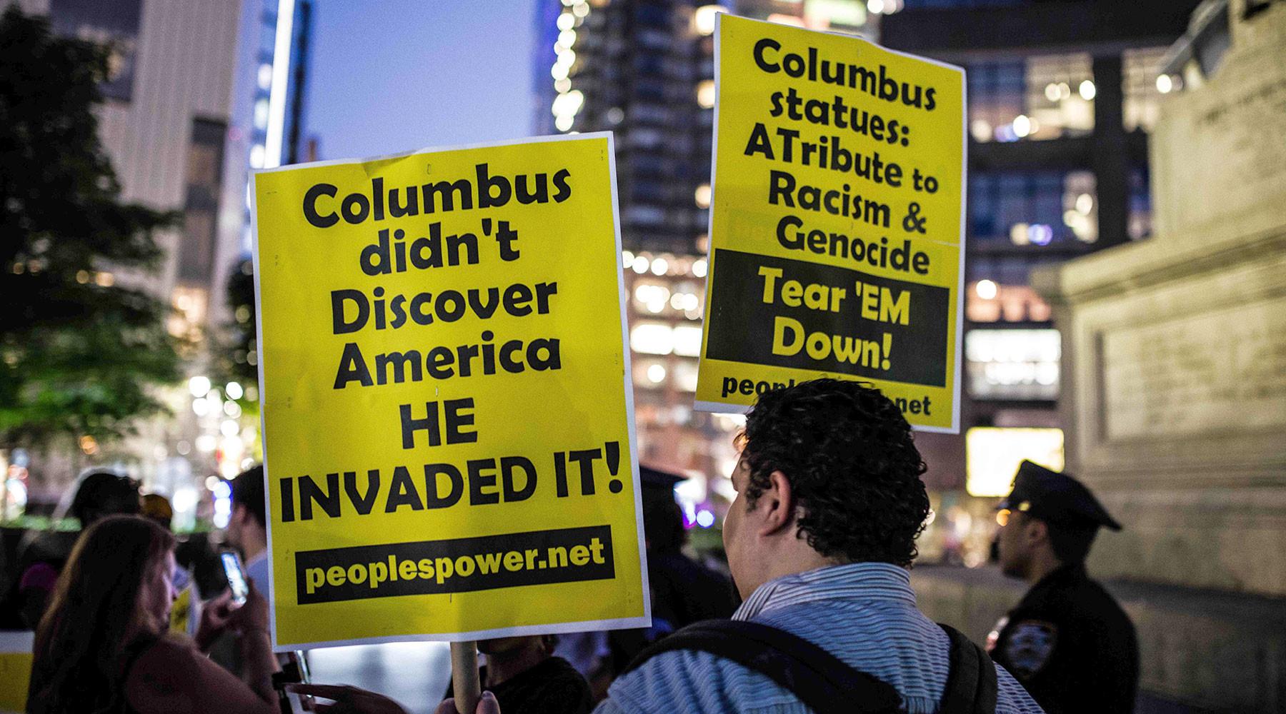 Великое закрытие: почему в США вандалы оскверняют памятники Христофору Колумбу