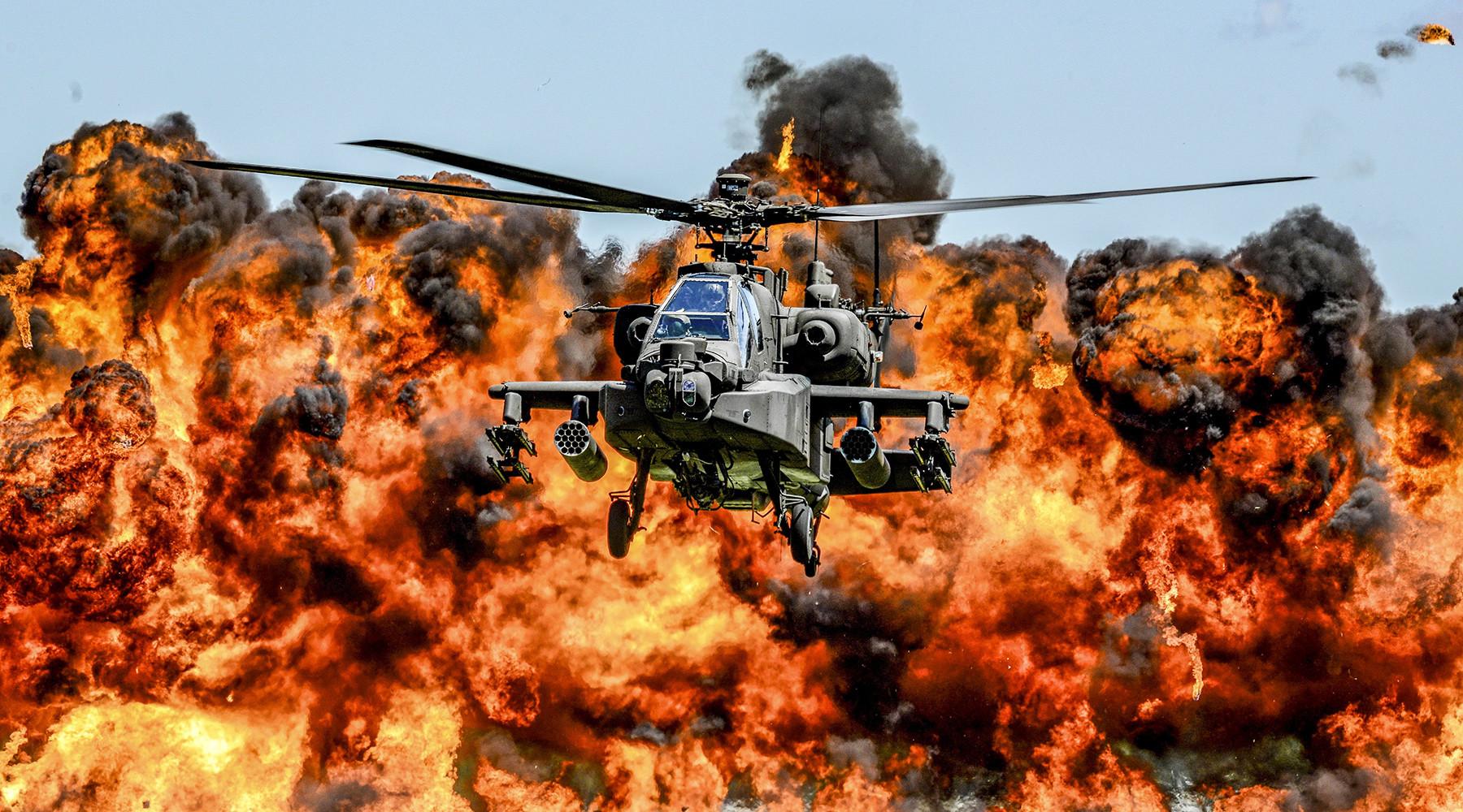 ВМС США планируют отправить в Латвию 76 боевых вертолётов