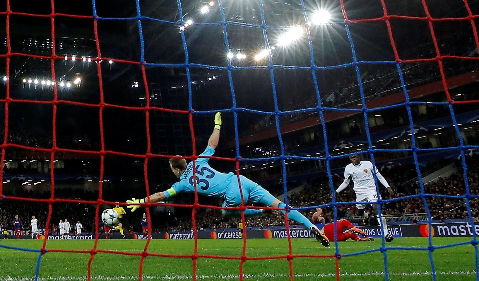 Нулевой вектор: ЦСКА проиграл «Базелю» в Лиге чемпионов, не нанеся ни одного удара в створ ворот соперника