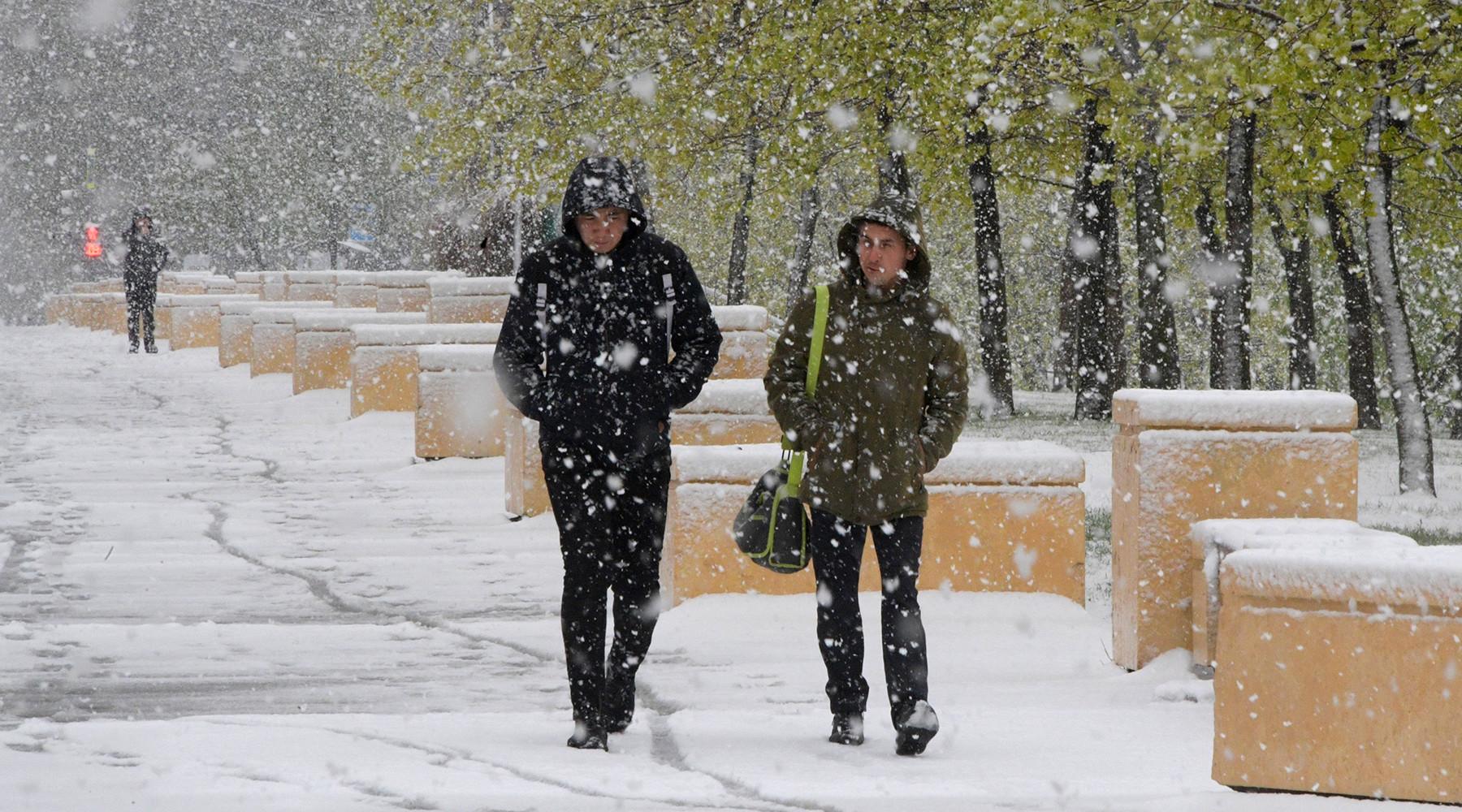 Зима рядом: в конце недели в Москве может выпасть первый снег
