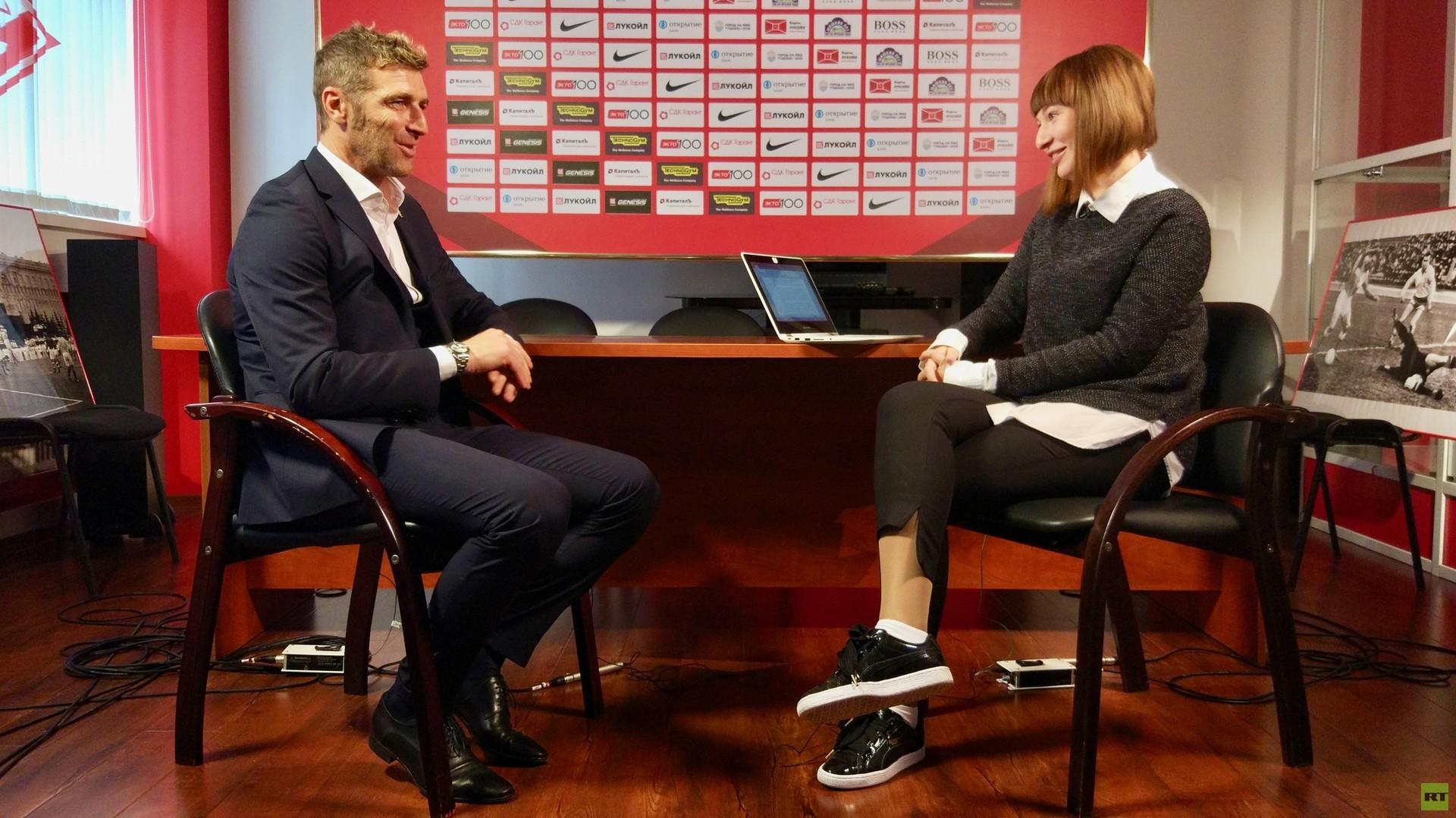 Массимо Каррера: «Спартак» критикуют из зависти (Видео)