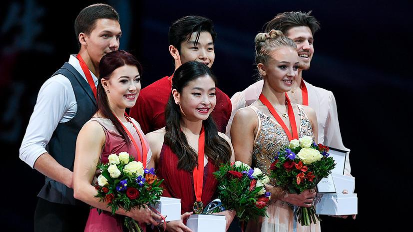 «Победа американцев в танцах — политическое решение»: Авербух об итогах московского этапа Гран-при по фигурному катанию