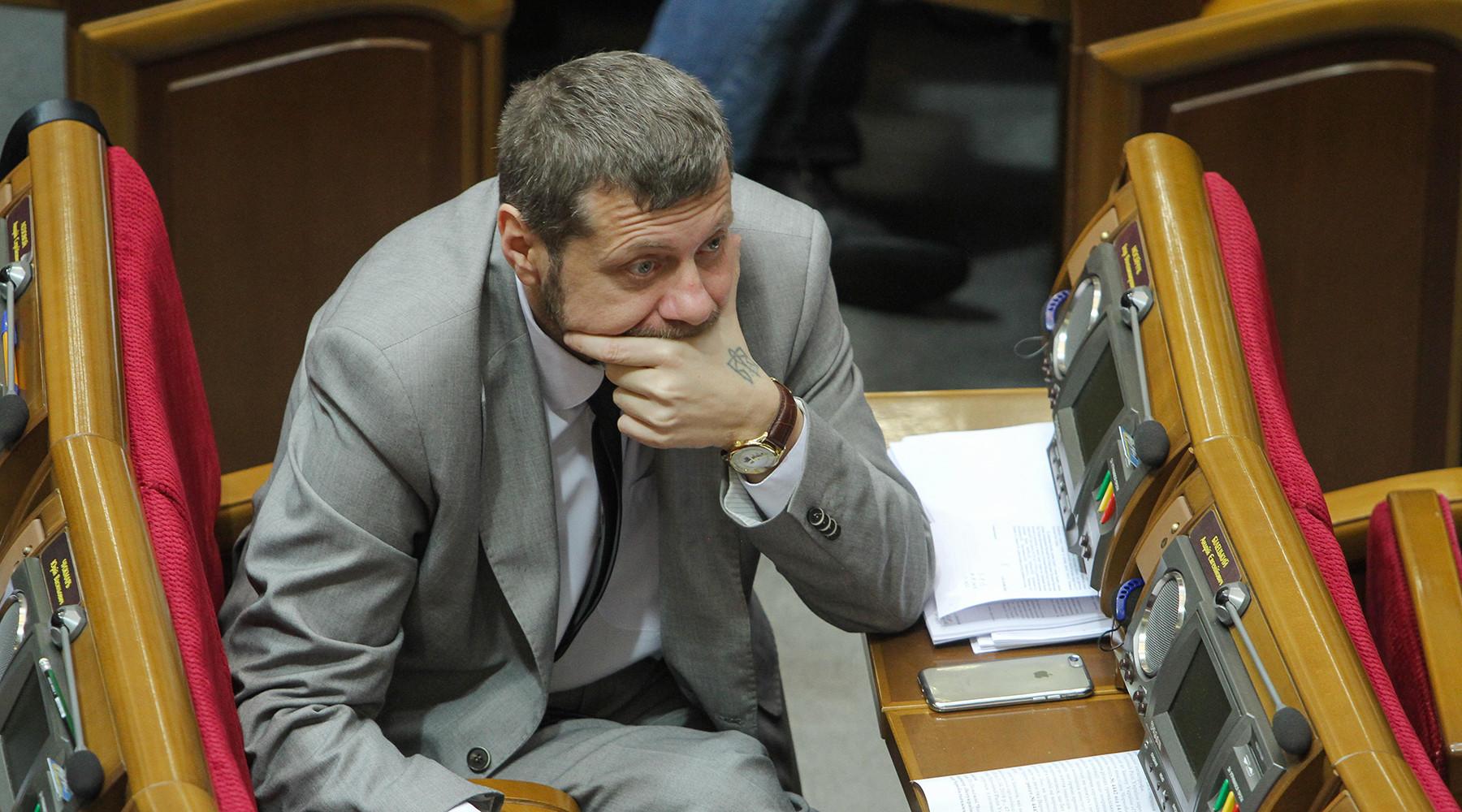 в Киеве выдвигают версии покушения на депутата Мосийчука