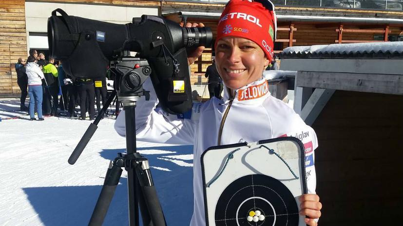 Допинг-проба словенской биатлонистки Грегорин сОИ-2010 дала хороший результат