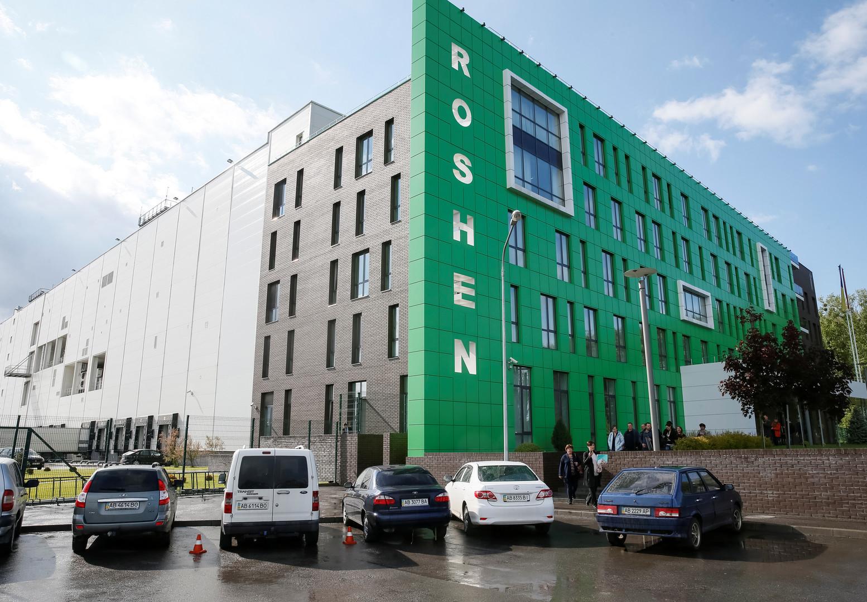Протестующие уВерховной рады объявили оначале блокады фабрики Roshen вВиннице