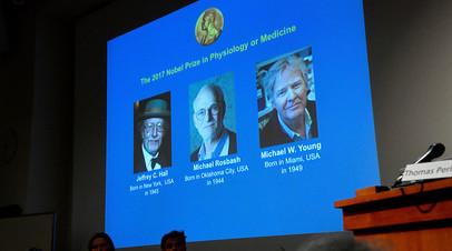 Победители Нобелевской премии по физиологии и медицине