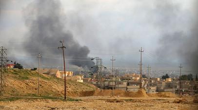 Последствия авиаударов коалиции США в Ираке