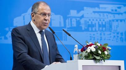 «США пытаются представить Россию злостным нарушителем ДРСМД»: Лавров на Московской конференции по нераспространению