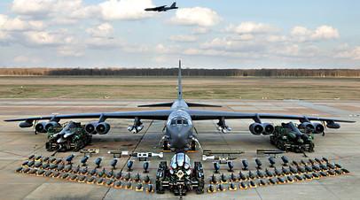 B-52 на авиабазе в Луизиане, 2006 год