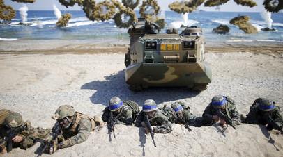 Cовместные учения США и Южной Кореи