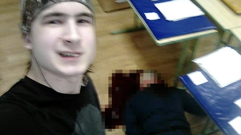 Предполагаемый убийца преподавателя в Москве опубликовал селфи с места убийства