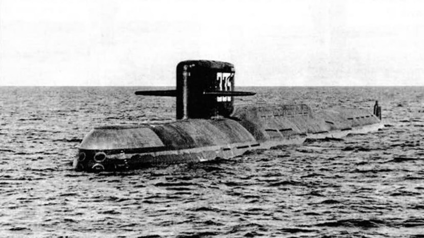 как создавался первый подводный атомный ракетный крейсер СССР»