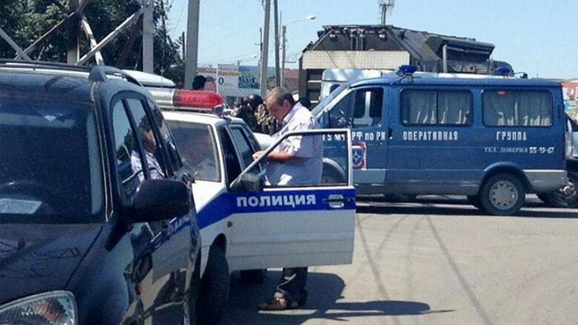 В Назрановском районе Ингушетии после нападения на пост ДПС введён режим КТО