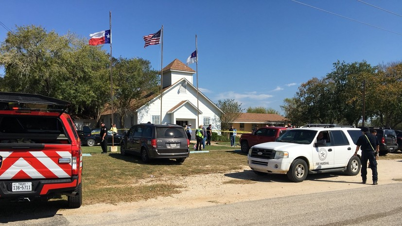 Стрельба в церкви Техаса: не менее 26 человек погибли, десятки ранены