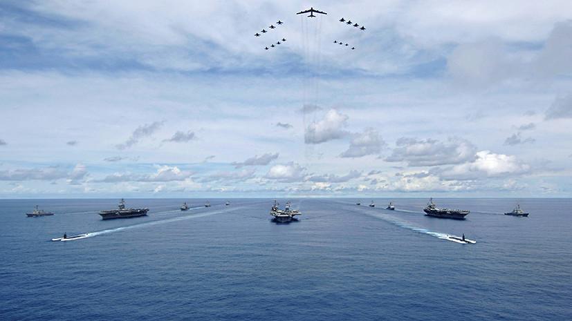 Трое в лодках: зачем США будут проводить масштабные учения с авианосцами близ КНДР