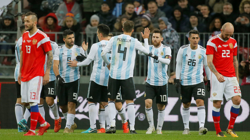 прямая видеотрансляция матча Россия — Аргентина на обновлённом стадионе «Лужники» »