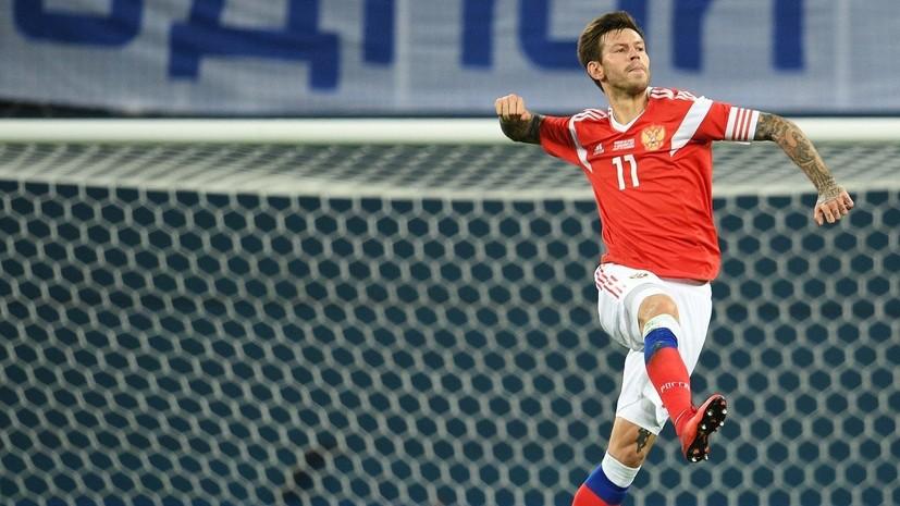 Дубль Смолова, тяжёлая травма Лунёва и спорное судейство: итоги товарищеского матча с Испанией