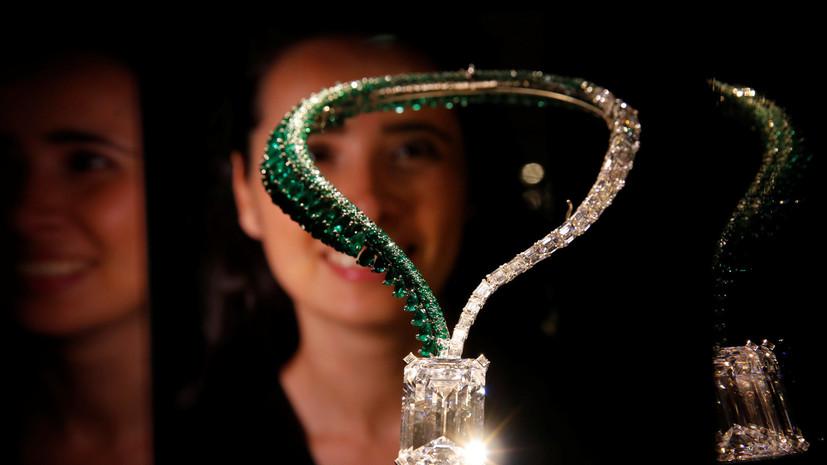 «Самый красивый алмаз в мире» продали за рекордные $34 млн
