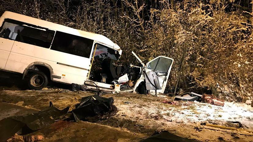 День траура: в крупном ДТП в Марий Эл погибли 15 человек
