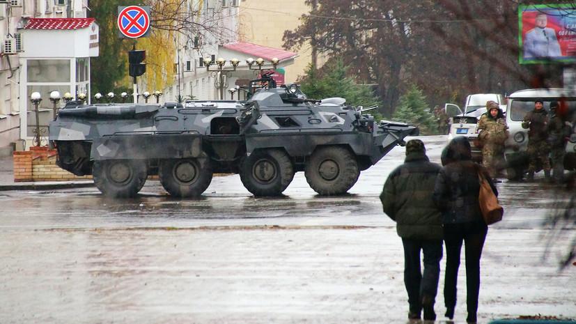 Плотницкий прокомментировал ситуацию в Луганске